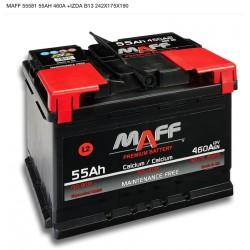 Baterá MAFF 55Ah 460A (+Izq)