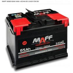 Batería MAFF 65Ah 540A (+Dcha)