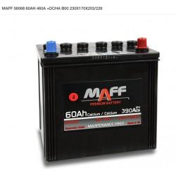 Batería MAFF 60Ah 460A (+Dcha)