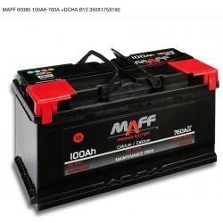 Batería MAFF 100Ah 760A (+Dcha)